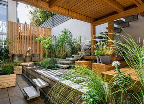 VIBRANT OUTDOOR LIVING SPACES