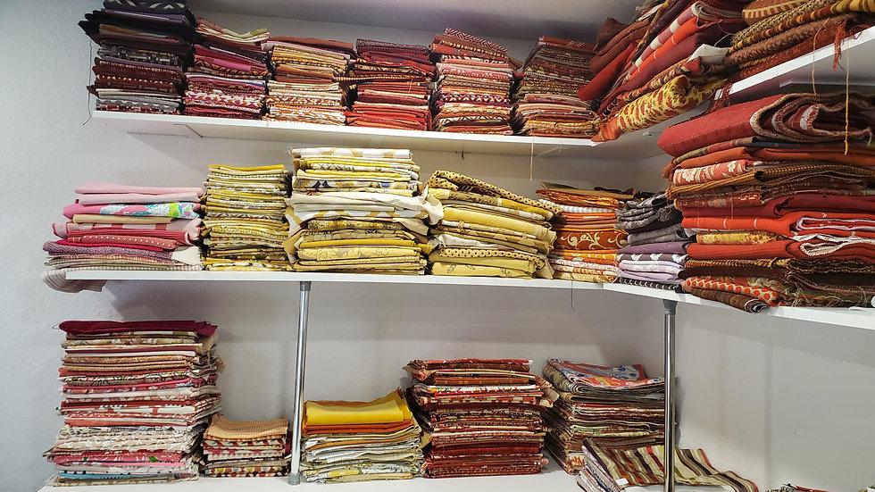 Hundreds of Designer Fabrics