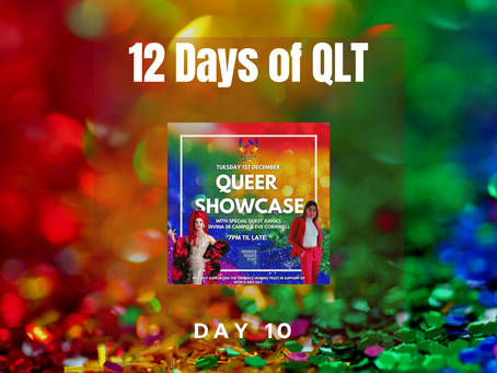 A Look Back at December: An Interview with our Queer Showcase Winner!