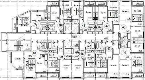 Дом 2. Этаж 5