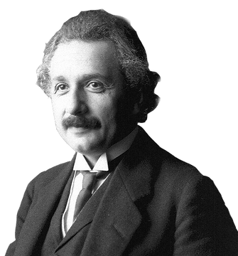 "Albert Einstein ""The only real thing is intuition."""