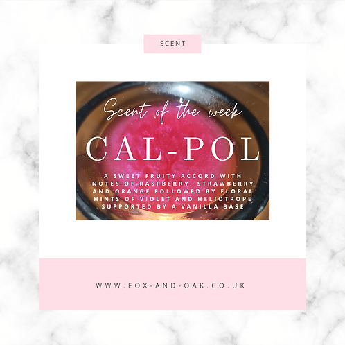Scent of the week - Cal-Pol