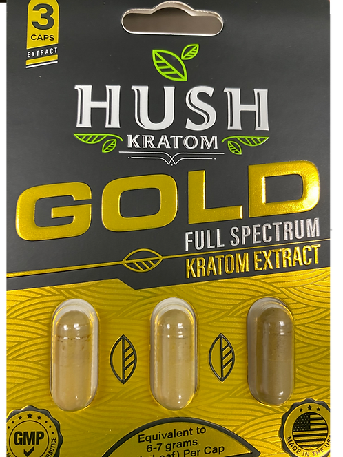 HUSH Gold Extract - 3 PACK