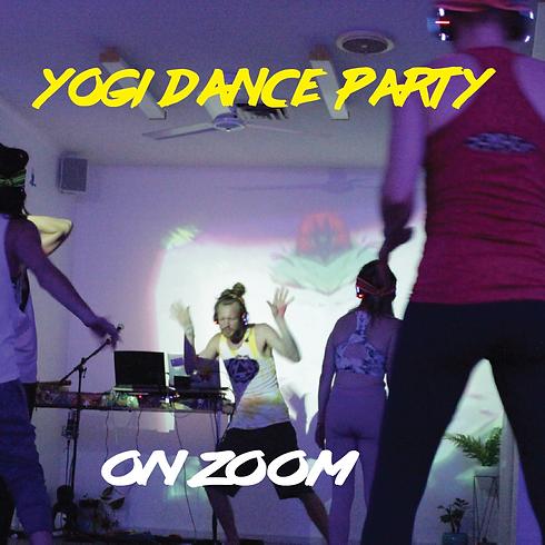 Yogi Dance Party - Zoom