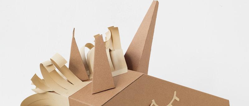 KOKO Cardboards DIY Unicorn Costume