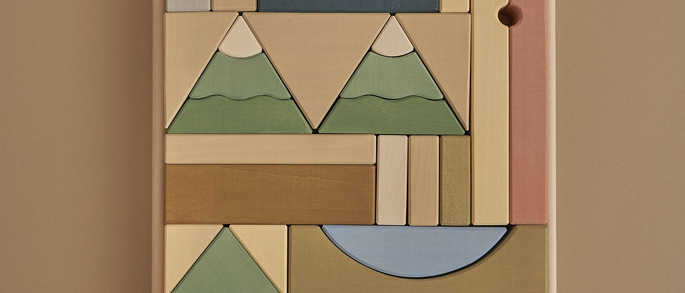 Mountain Building Blocks