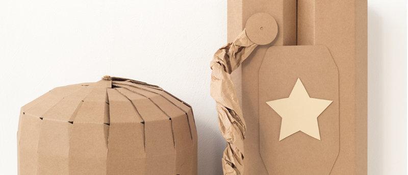 KOKO Cardboards DIY Astronaut Costume