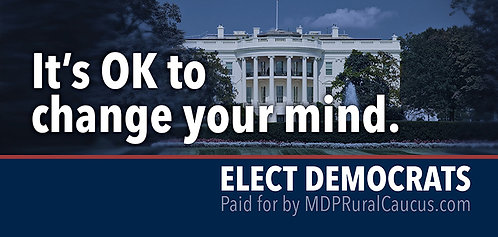 250 Postcards - It's OK to change your mind.