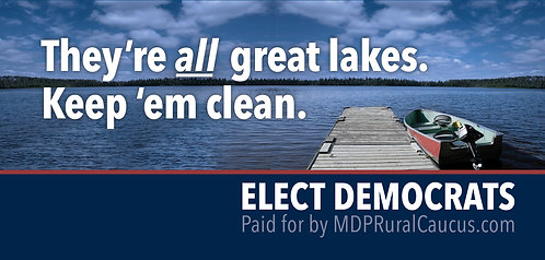 250 Postcards - They're all great lakes.  Keep 'em clean.