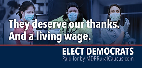 250 Postcards - They deserve our thank. And a living wage.