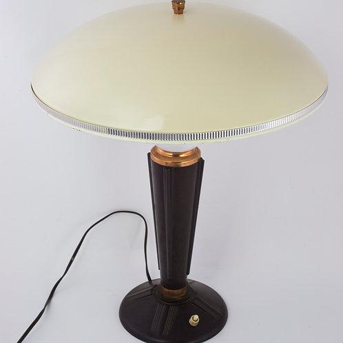FRENCH MODERNIST MID CENTURY DESK LAMP (1) JUMO BAKELITE ADNET