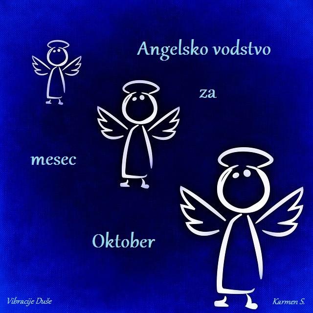 Angelsko vodstvo oktober-vibracijeduse