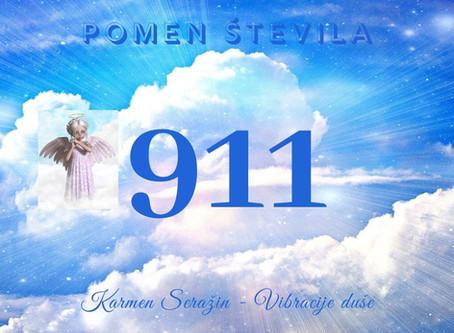 911- Ali to število vidiš pogosto? Preveri, kaj ti sporoča!