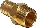 House Connector Male Brass