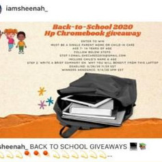 WCL back to school 2020 giveaway