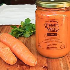 Zanahorias y Jengibre.