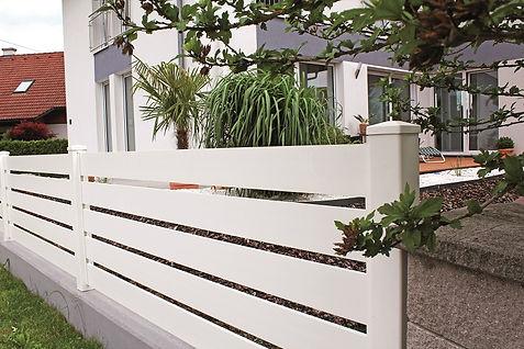 Aluminium zaun Modern Weiss.JPG