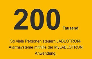 jablotron 100+ alarmanlagen app nutzer.J