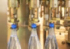 Бутылки, линия розлива