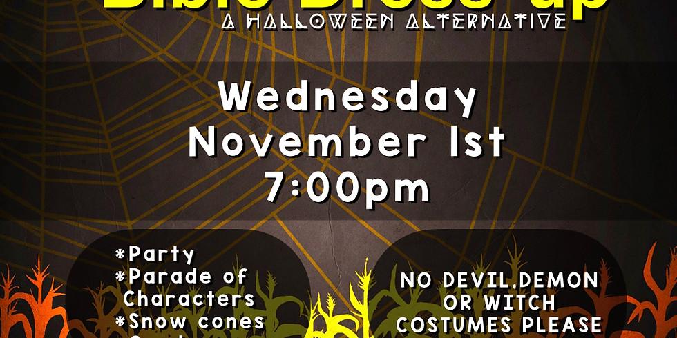 Bible Dress-up (Halloween Alternative)