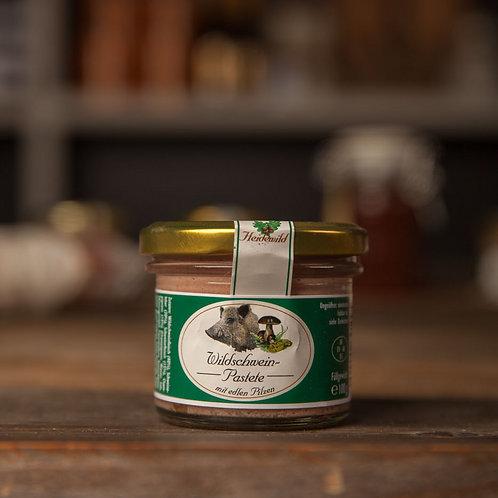 > Pastete vom Wildschwein (4,90€/100g)