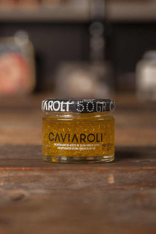> Olivenöl-Kaviar (38,00€/100g)