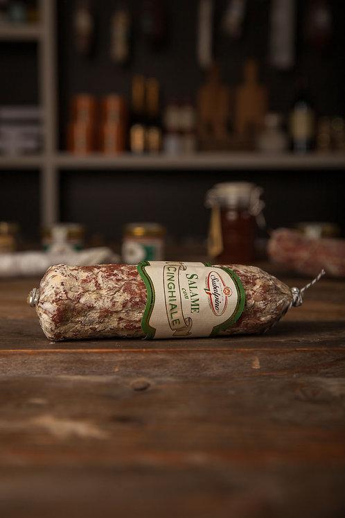 > Piemonter Wildschweinsalami