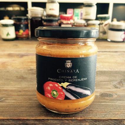 > Paprika-Aubergine-Creme (3,28€/100g)