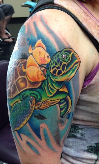 Facebook - By @mobink #tattoos#tattoo#seaturtle#womanstattoo_edited