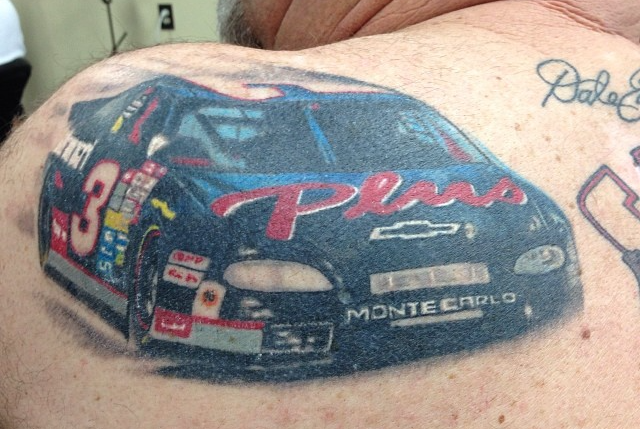 Instagram - Healed #tattoos #tattoo #nascar#earnhardt#3 #27thsttattoo_edited