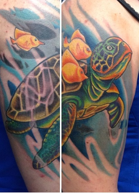 Instagram - Final session#tattoos #tattoo #turtletattoo#womantattoo_edited