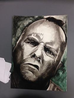 Facebook - watercolor painting of Jay Adams
