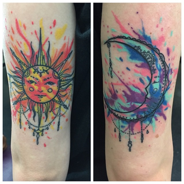 Instagram - Healed pics #tattoos #tattoo #tattooing #watercolortattoo #27thsttat