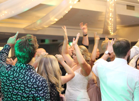 Why it's important to select some, but not all, of the reception music. Let the DJ earn their money!