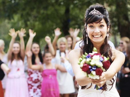 Are Couples Skipping the Garter and Bouquet Toss?