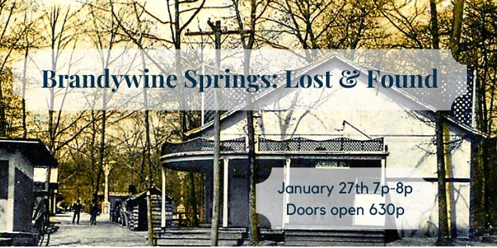 Brandywine Springs: Lost & Found