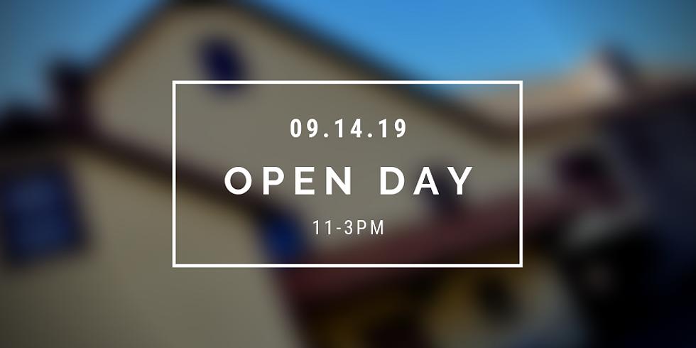 September Open Day