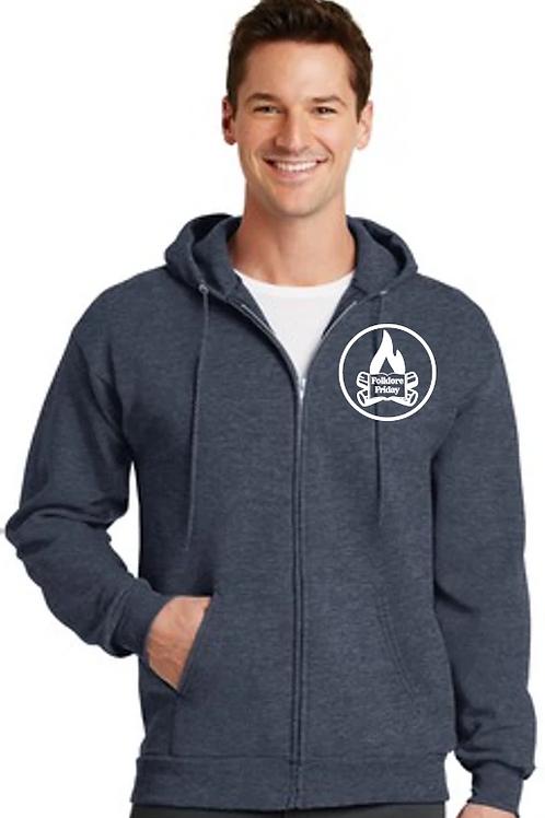 Zip-Up Hooded Sweater