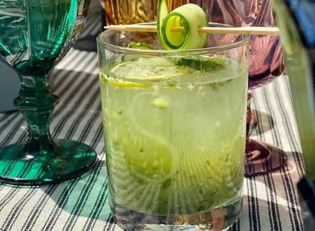 Gin Cucumber Coolers