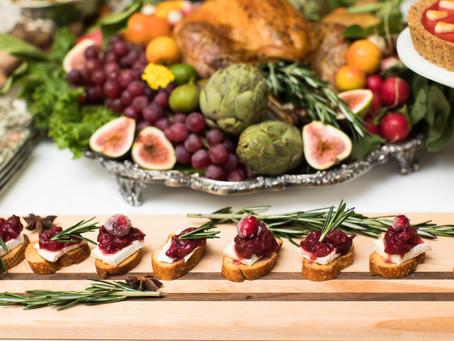 Cranberry Compote & Brie Crostini