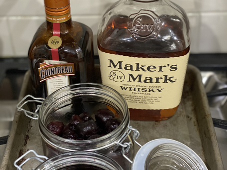 Bourbon Soaked Cherries