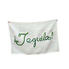 Sal de Mar Tequila Towel