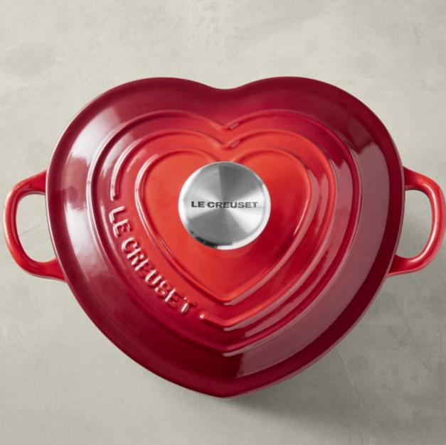 Le Creuset Enameled Cast Iron Heart, 2-Qt.