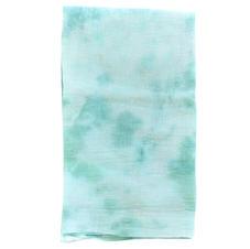 Tie Dye Cotton Napkin, Mediterranean Greens