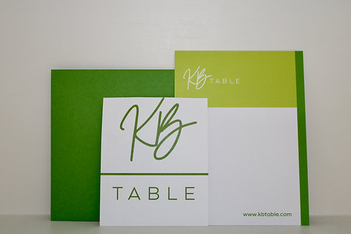 Personalized Gift Message on Stationary