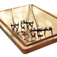 Monogrammed Steak Brand & Cutting & Carving Board