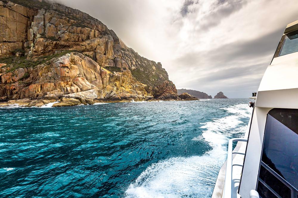 Cruising on Wineglass Bay Cruises