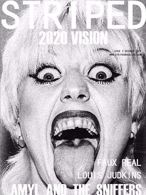 ISSUE 3 AMYL AND THE SNIFFERS, FAUX REAL, LOUIS JUDKINS-'2020 VISION'