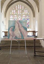 washing the feet in st marys church.jpg