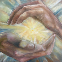 hands of the creater